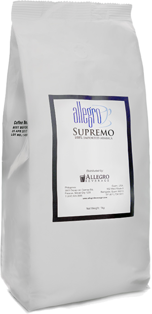 Allegro Coffee: Supremo